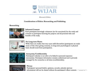 Research and Publication Ethics