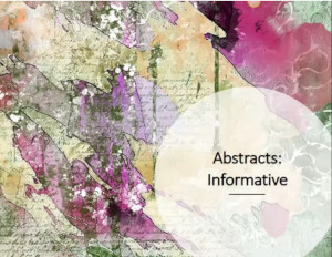 Tutorial: Informative Abstracts